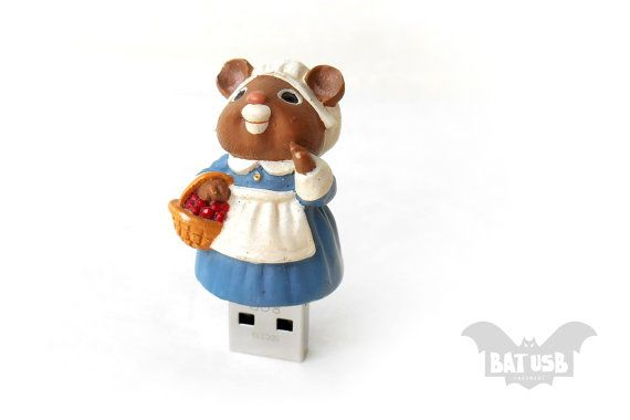 Mouse usb flash drive 8/16/32/64GB  Memory Stick  Cute by BatLab