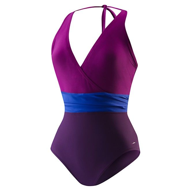 Image for Color Blocked Halter from Speedo USA