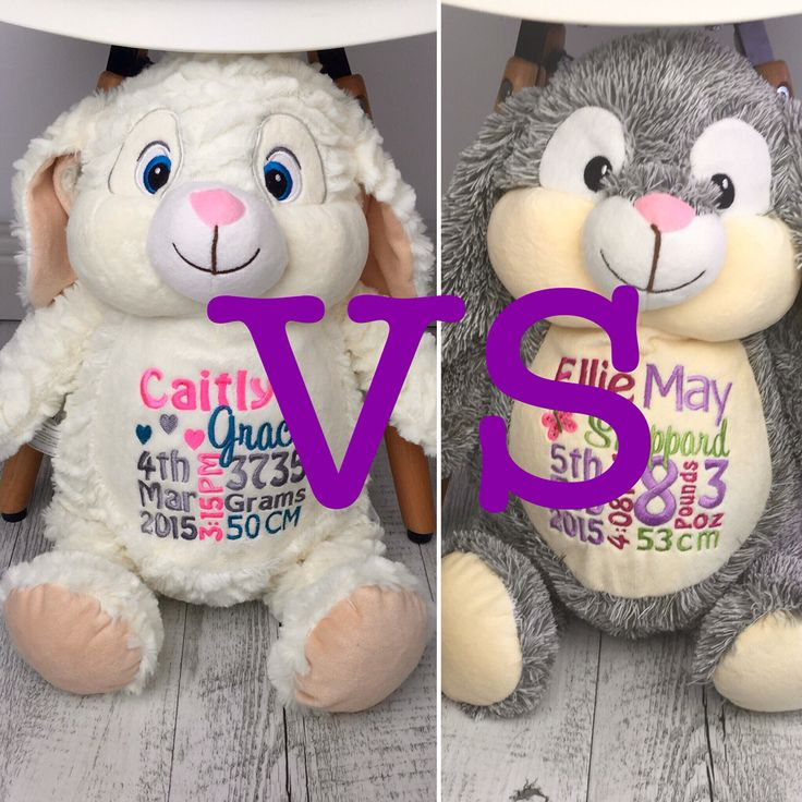 Which is the best looking Bunny?  White or Grey