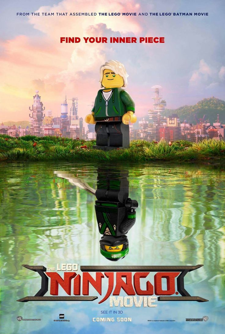 #Ninjago Movie poster