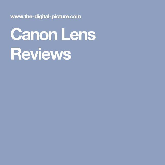 Canon Lens Reviews