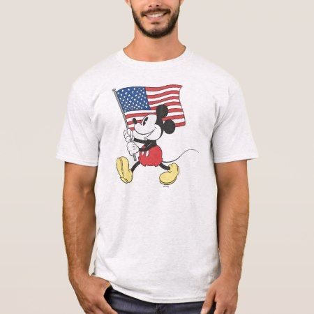Holiday Mickey | Flag T-Shirt - click to get yours right now!