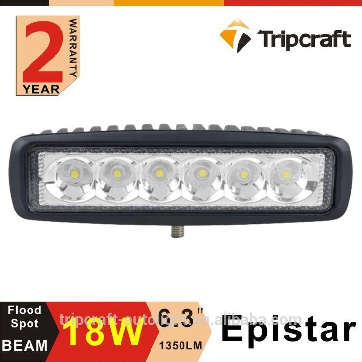 18W 6inch 12V 24V LED Light Bar OffRoad ,SUV ATV 4WD 4X4 Truck LED Working Bar Light
