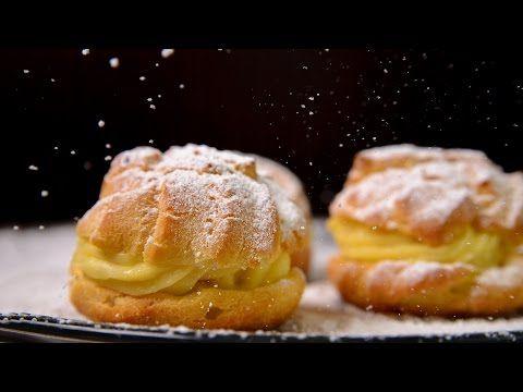 Cream puffs - Check my recipe for cream puffs with pudding cream. YouTube
