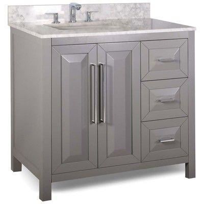 Best Deal   Bath Furniture Lyn Design Vanities VAN100 36 T