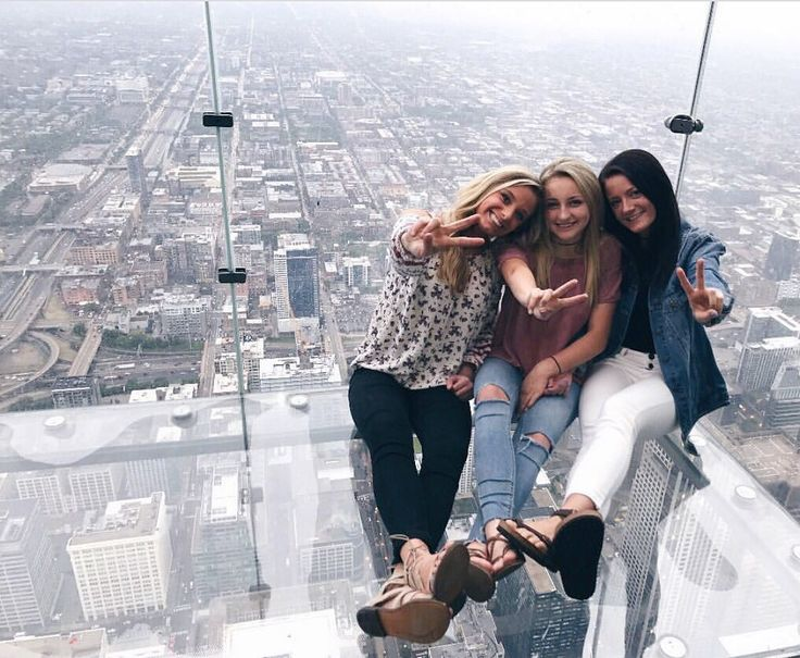 Chicago, Illinois skydeck at Willis tower
