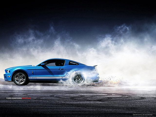 Ford Mustang Shelby Gt Wheel Spin Top Gear Pinterest