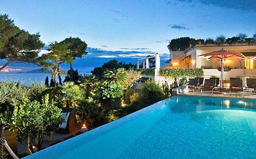 Orsa Maggiore - A Small Boutique Hotels #Anacapri #Capri #italy #pool