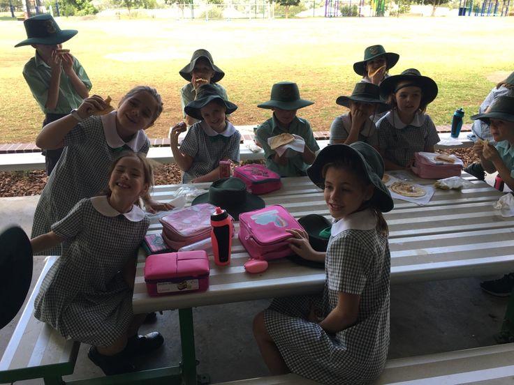 Shrove Tuesday at St Nicholas School.
