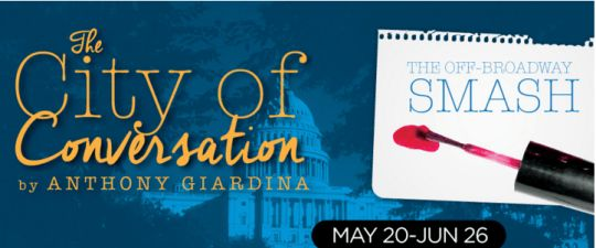 The-City-of-Conversation- Just in time for all the heaviness of the elections it is time for a laugh, see here (#horizontheatre): http://www.god4bandme.com/2016/05/12/city-conversation-horizon-theatre-atlanta/