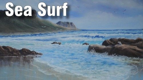 How to Draw Surf in Pastel — Online Art Lessons