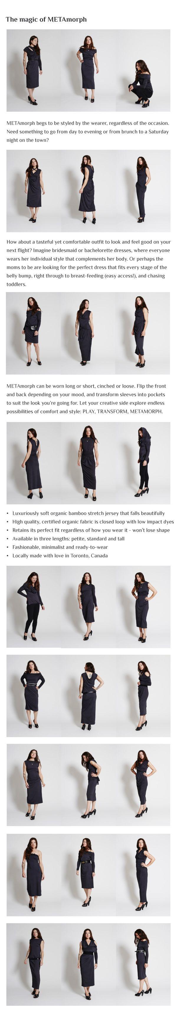 24 styles of Metamorph Dress http//www.thievesboutique
