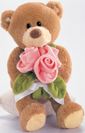 Cuddly Collectibles - Collectible Gund Jumbo Cuddly Soft Plush Teddy Bears for Valentine's Day