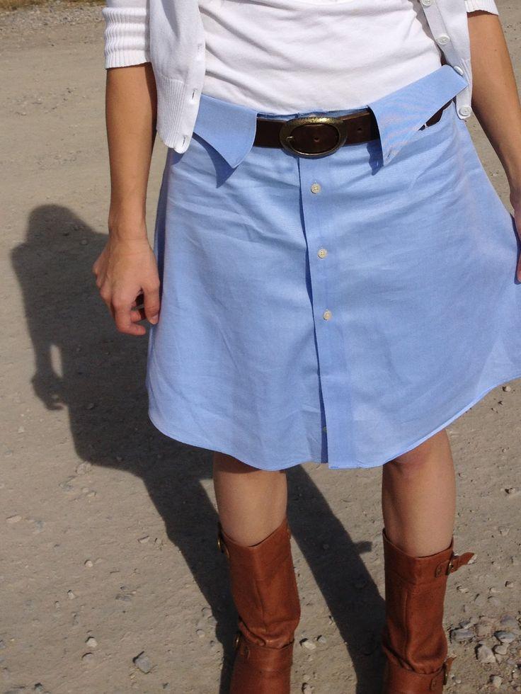 Sue's News: Shirt Skirt