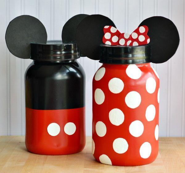 Esta lembrança Mickey e Minnie além de linda ainda é sustentável e auxilia o planeta (Foto: foodfamilyfinds.com)