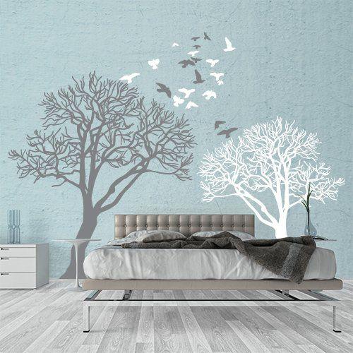 Le 25 migliori idee su decorazione da parete con alberi su - Albero su parete ...