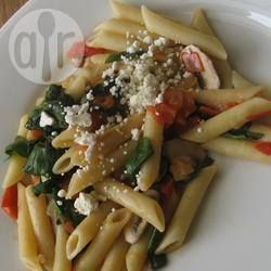 Spinazie en feta-pasta @ allrecipes.nl