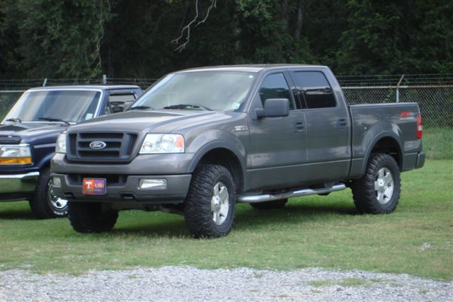 Ford f-150 with super swamper tire