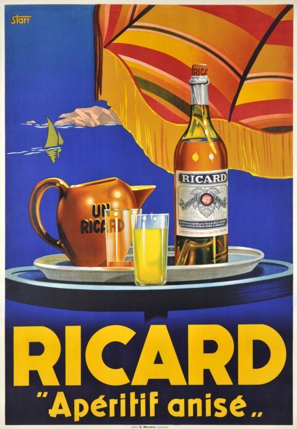 Vintage Ricard Advert