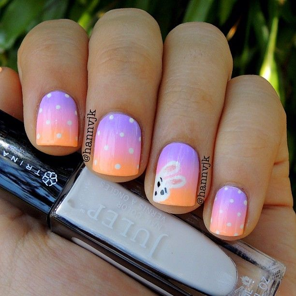 Add a fun and fanciful flair to your spring wardrobe with an Easter themed nail  design. Let Peter Cottontail hop off the bunny trail and [. - 335 Best Easter Nail Design Images On Pinterest Easter Nail Art