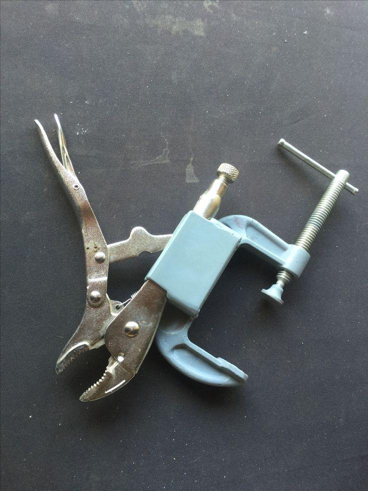 Homemade Vice Grip Holder
