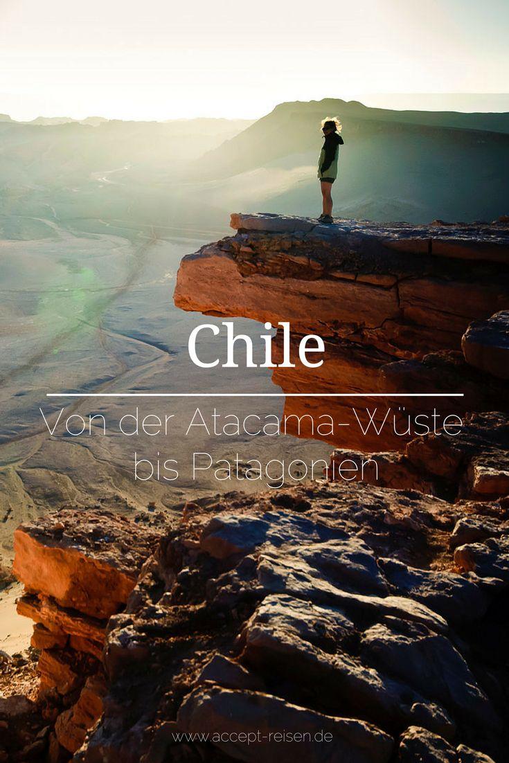 Alle Highlights von Norden bis Süden in einer Chile Reise.