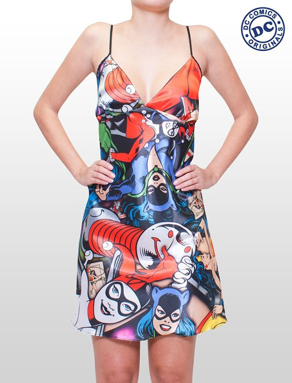 Make Space In Your Wardrobe For These DC Comics Bikini Tops, Robes, And Dresses