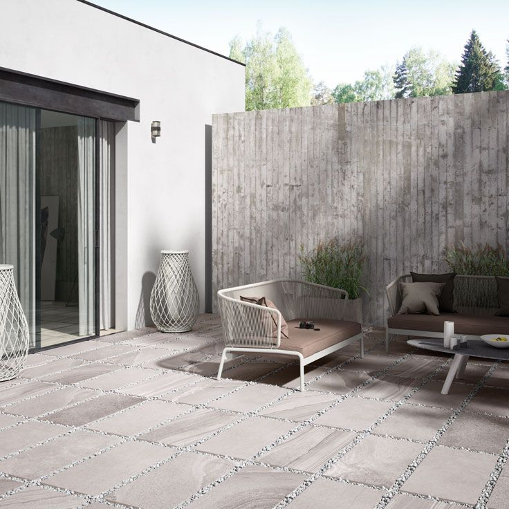 Re Make Porcelain in Fog Multi   www castelnautiles co uk  73 best Concrete   cement inspired looks images on Pinterest  . Exterior Wall Tiles Uk. Home Design Ideas
