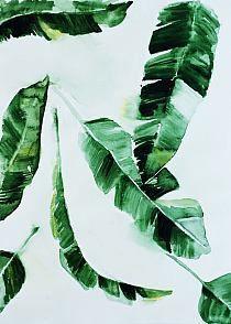 """Obraz na płótnie """"Banana leaf"""""""