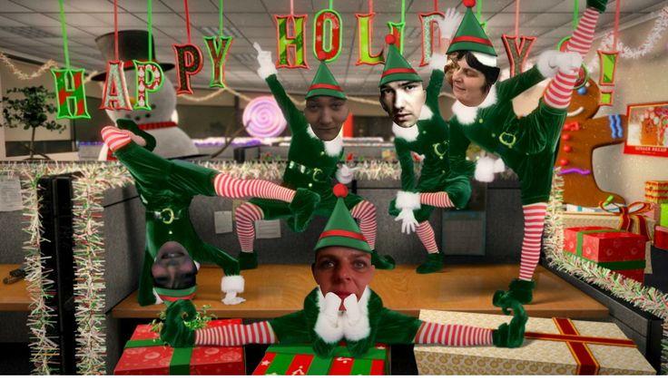 samen met mn gezinnetje aan de kerstdansen