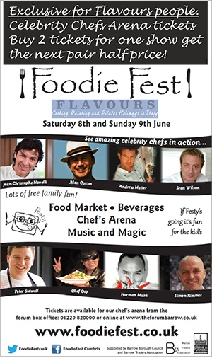 Exclusive offer for all Flavours Holidays friends  http://www.flavoursholidays.co.uk/overview/offers Half price Foodie Fest tickets
