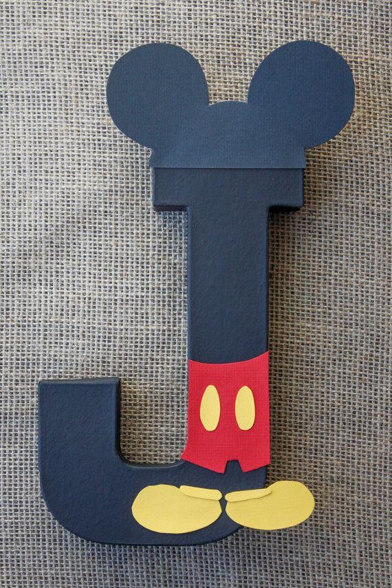 Decoración fiesta Mickey Mouse carta temática por LittleABCDesigns