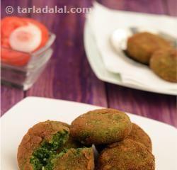 Hara Bhara Kebab ( Kebabs and Tikkis Recipes)
