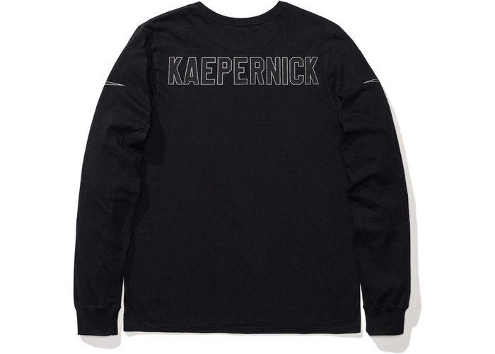 Nike NSW Colin Kaepernick Longsleeve T Shirt Black | Long