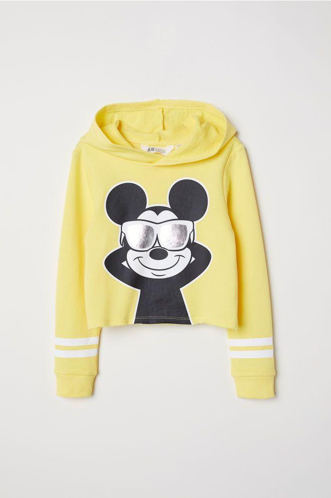 fdbfb1126cf Короткий худи в 2019 г. | Одежда | H m outfits, Hooded sweatshirts и ...