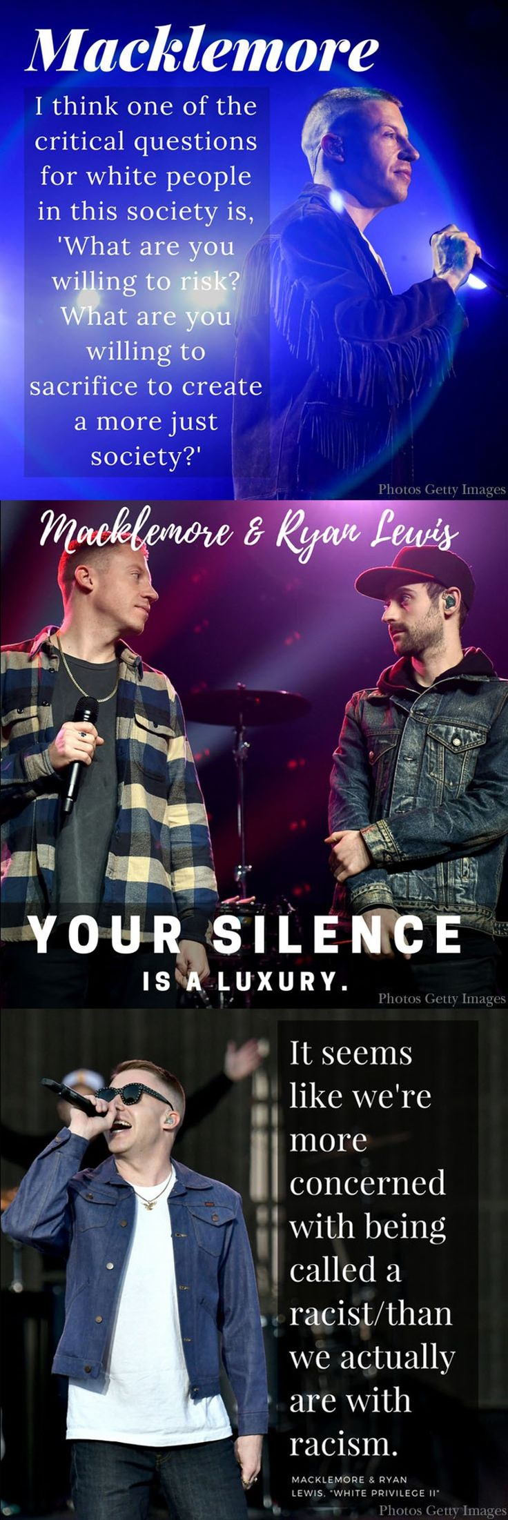 Macklemore and Ryan Lewis: Please visit the Florida students who turned your song, White Privilege II into a 10-minute play.