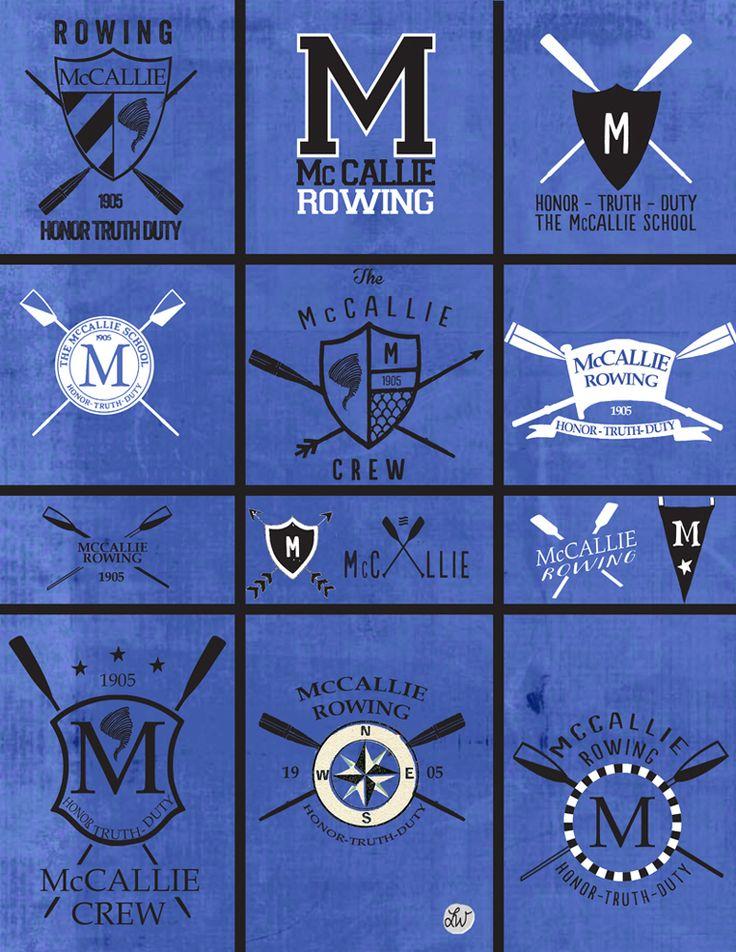 mccallie crew rowing logos Rowing, Animal logo