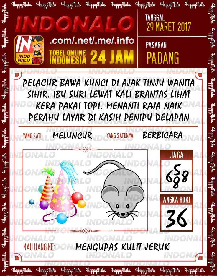Kode Mistik 6D Togel Wap Online Indonalo Padang 29 Maret 2017