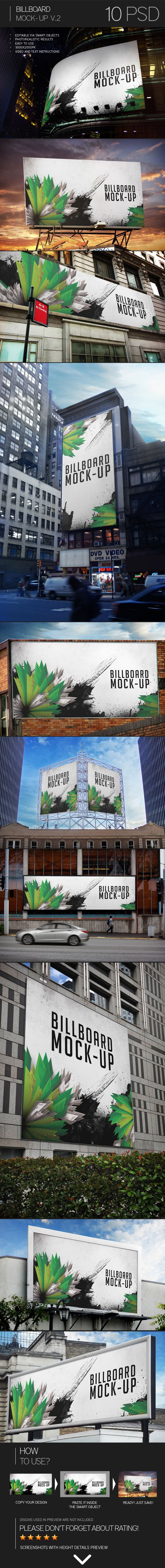 Billboard Mock-Up Vol.2 on Behance