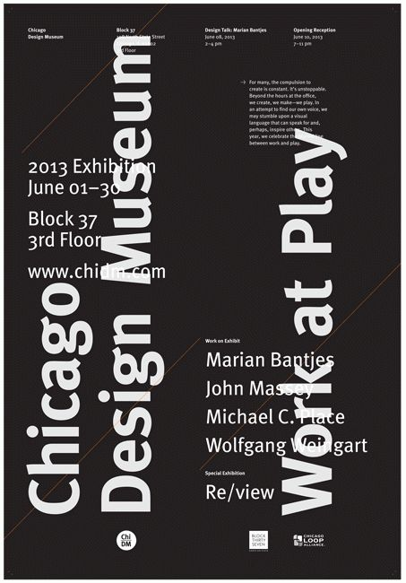 Jim Thomas, Chicago Design Museum 2013