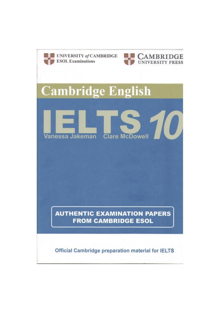 12 best ielts images on pinterest cambridge ielts english practice tests for ielts 10 contains four complete sample ielts tests each test comprising listening and speaking modules and academic reading fandeluxe Image collections