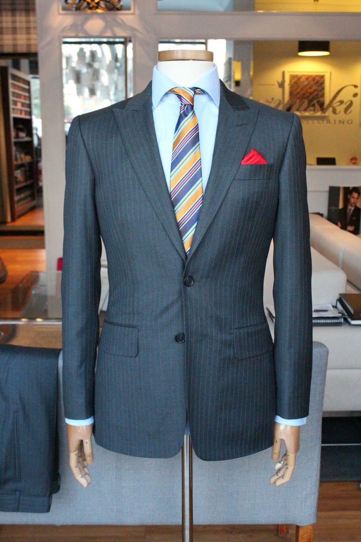 https://www.facebook.com/media/set/?set=a.10152191294639844.1073742090.94355784843&type=1  #mtm #madeomeasure #buczynskitailoring #buczynski #carnet #suit #stripes