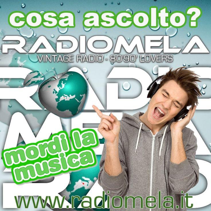 Mordi la Musica con #radiomela http://www.radiomela.it  #webradio #8090lovers #vintageradio