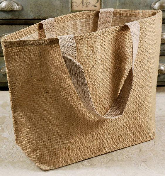 burlap bag/material
