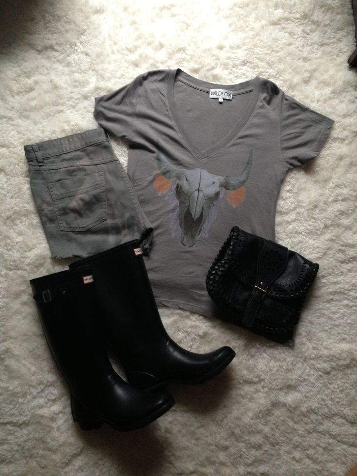 Rainy summer outfit