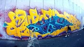"""Vídeo Graffiti by Chaser, C8b´s, GH Crew, La Sierra, Madrid 2013. -Cámara & Fotografía: Árabe. -Edición & montaje: Verchaser. -Producción & Post-producción: No Mames Films. -Música: C2c """"Down the road""""."""
