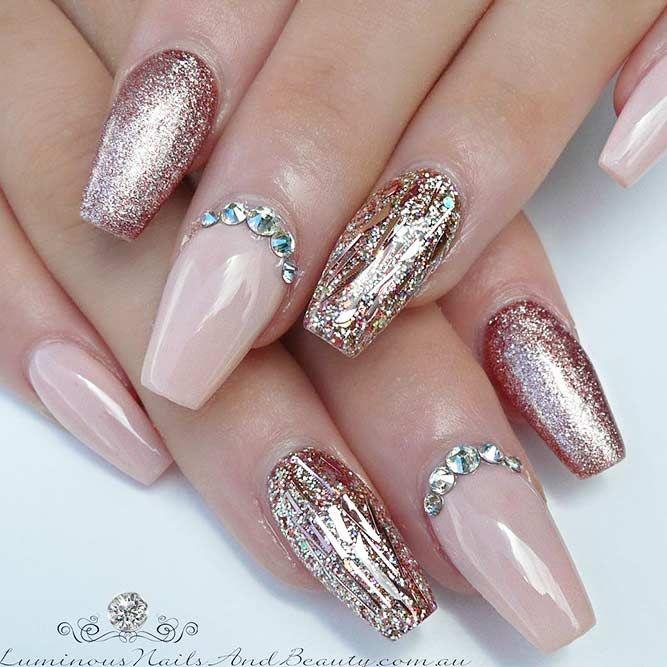 ballerina nails ideas