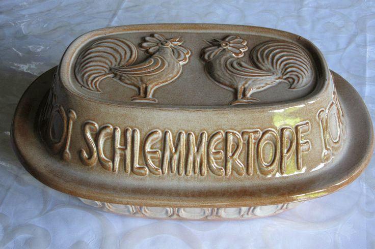 Schlemmertopf - Scheurich Keramik Model 836 - Römertopf | eBay