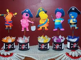 Backyardigans party. Ideas Para tus Fiestas Tematicas: Decoracion Fiesta De Los Backyardigans