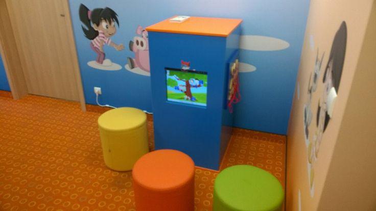 Kącik dla dzieci w poczekalni pediatrycznej